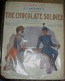 My Hero, music from the Chocolate Soldier 1909