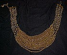Multi strand gold chain necklace, GORGEOUS!!