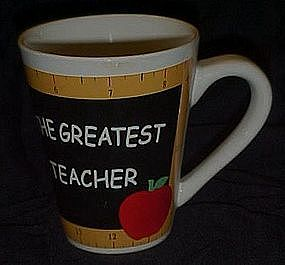 The Greatest teacher mug / cup