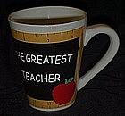 The Greatest teacher mug / cup
