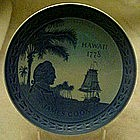 Royal Copenhagen Hawaii, James Cook Bicentennial plate