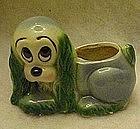 Hull pottery cocker spaniel planter