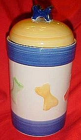 Doggie treats cookie jar