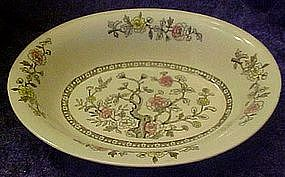 Japan Indian Tree, oval vergetable bowl