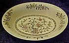 Japan Indian Tree, oval vergetable bowl