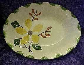 Blue Ridge Southern Potteries  Hornbreak oval bowl