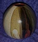 Large  handmade Pottery vase 1976
