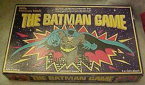 Vintage Batman game,  50th Anniversary edition, 1989
