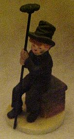 McClellands chimney sweep by Reco, signed figure