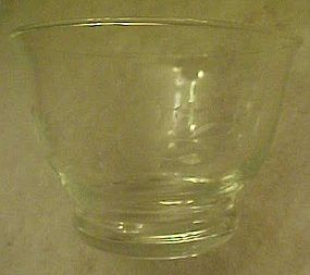Princess House  crystal gravy boat, Heritage pattern