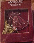 Waterford crystal ornament, Our first Christmas 2000