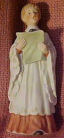Enesco  bisque choir girl figurine,  #2444