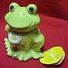 Josef Originals fridge-fresh frog, baking soda keeper