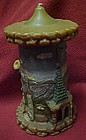 Vintage Gunter-Kerzen scenic Germany Candle