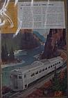 Vintage BuddTrain advertisement,  RDC