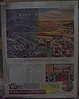 Vintage 1941 Pennsylvania Railroad train add