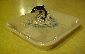 Orca whale candy dish