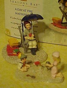 Dept 56 Seasons Bay, A Day at the waterfront, boxed