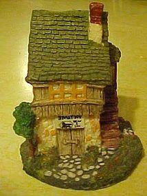 Dickens miniature CCP cottage, Bean & Son Smithy