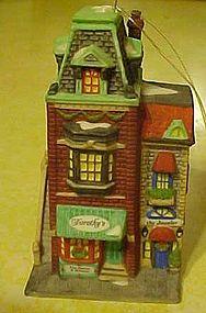 Dept 56 Cottage porcelain ornament, Dorothys Dress Shop
