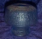 Tiara  blue mushroom fairy light candle lamp