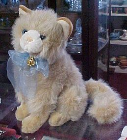 Wonderful fluffy People Pals plush kitty cat, life size