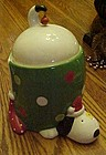 Giftcraft Inc Christmas puppy cookie jar