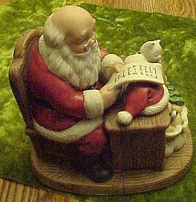 Santa's list,  bisque figurine  #5601
