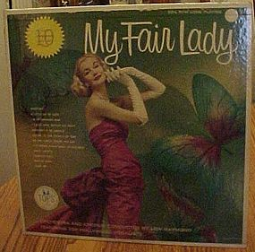 My Fair Lady, 10th Annivrsary Gold label issue, 33 1/3