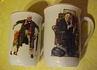 Norman Rockwell porcelain mug, 1936 Grandpas  Gift,