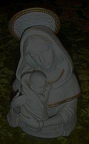 Madonna and child limited ed. figurine G.G Santiago