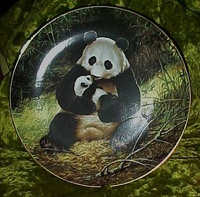 The Panda collectors plate, Will Nelson W S George