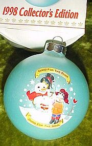 Campbell's 1998 Collectors edition Christmas ornament