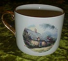 Teleflora Thomas Kinkade Moonlight Cottage cup