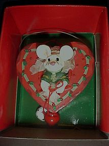 Kurt Sadler merry Chrismouse heart cupcake ornament