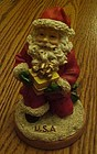 USA Santa claus cookie stamp  press Ellie's kitchen