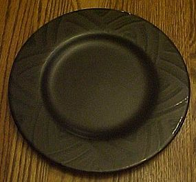 Pfaltzgraff Midnight Brown luncheon plate 8 1/4""