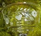 Elegant Libbey Rock Sharpe Halifax wine glass stem 3005