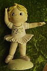 Large porcelain Ballerina figurine Prec Moments style