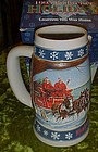 Budweiser 1995 Holiday stein, Lighting the way home