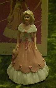 Hallmark keepsake ornament Springtime Barbie 1997