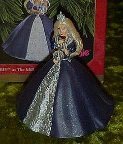 Hallmark Barbie millenium Princess ornament 1999