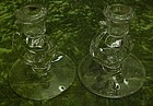 Fostoria Century candle holder pair