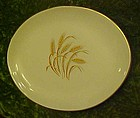 Homer Laughlin Golden Wheat oval serving platter