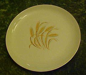 """Homer Laughlin Golden wheat salad plate 7 3/8"""""""