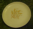 Homer Laughlin Golden wheat salad plate 7 3/8""