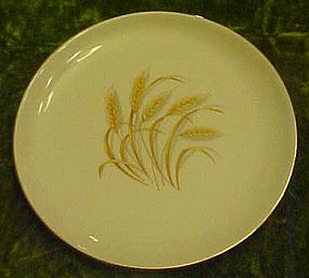 Homer Laughlin Golden Wheat luncheon plate 9 1/4""
