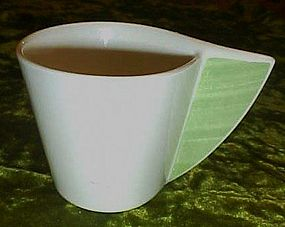 Villeroy and Boch palm leaf cup