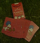 Vintage Hallmark Peanuts mini playing cards Snoopy