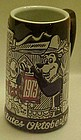 Vintage 1973 Hamms Octoberfest beer stein